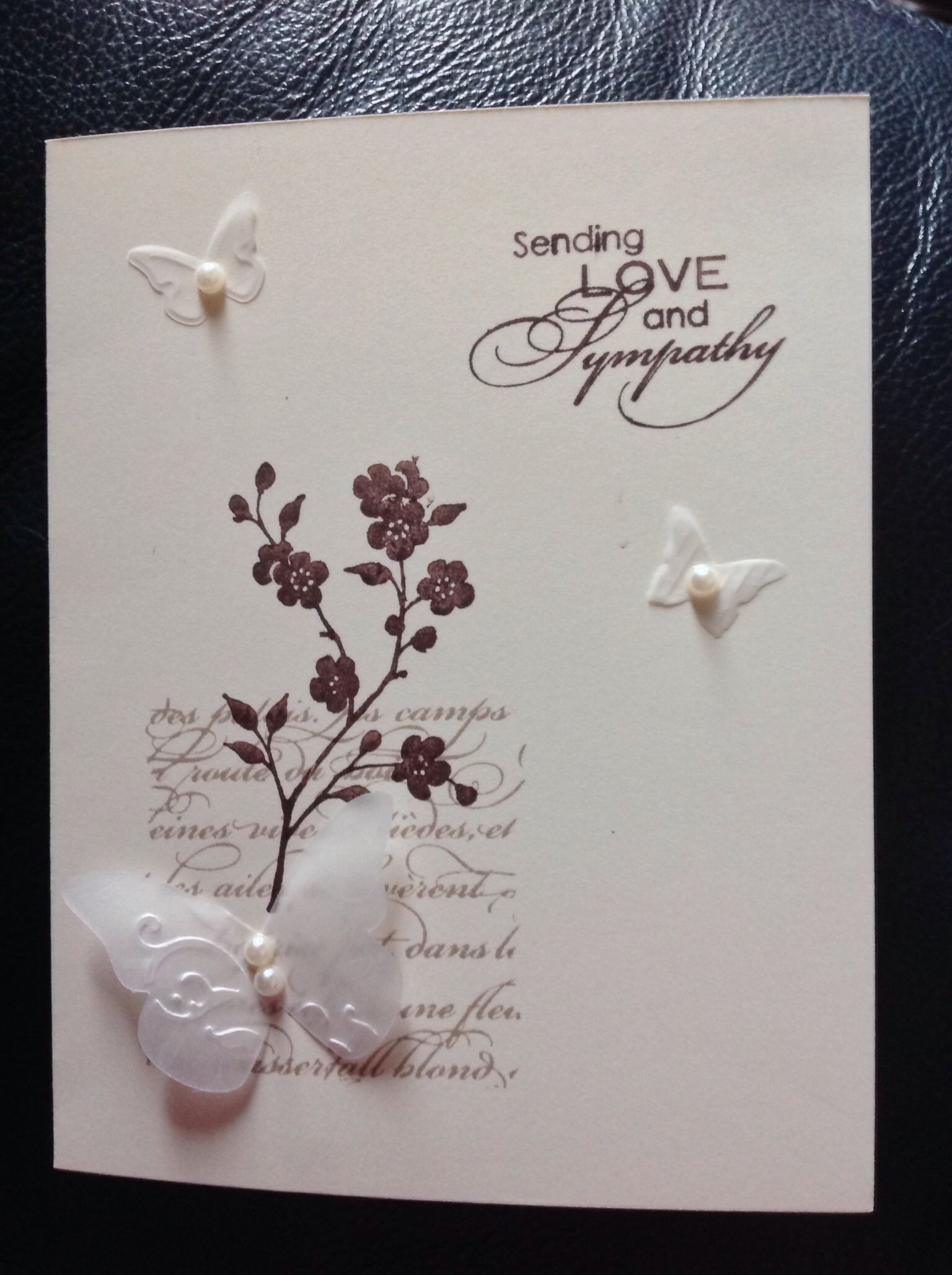 Year sympathy cards pinterest handmade sympathy cards on pinterest