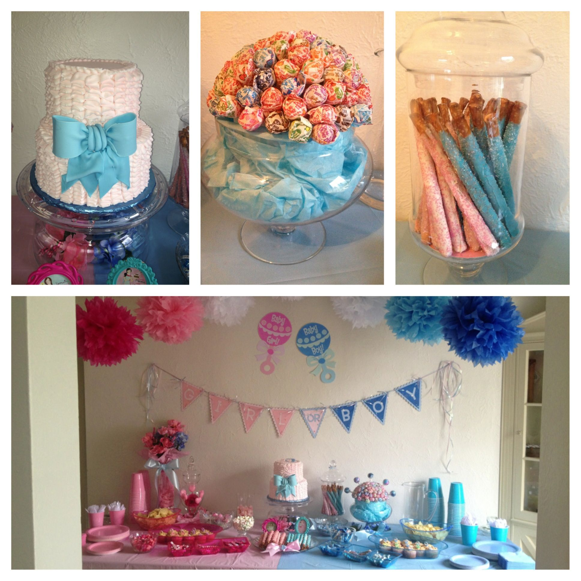 Pinterest Gender Reveal Party Party Invitations Ideas