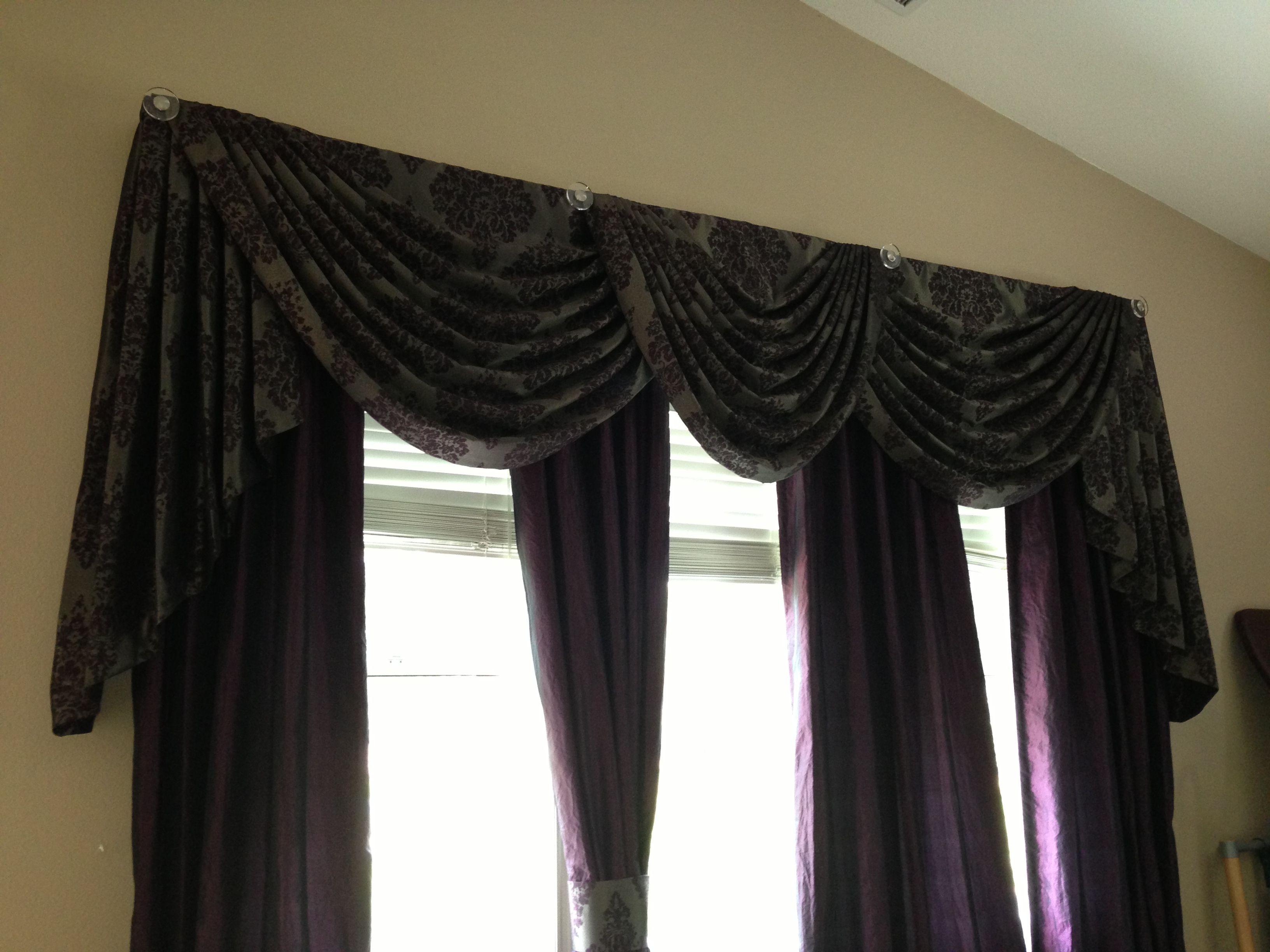 3 Board Mounted Swags And Cascades Window Treatments Pinterest
