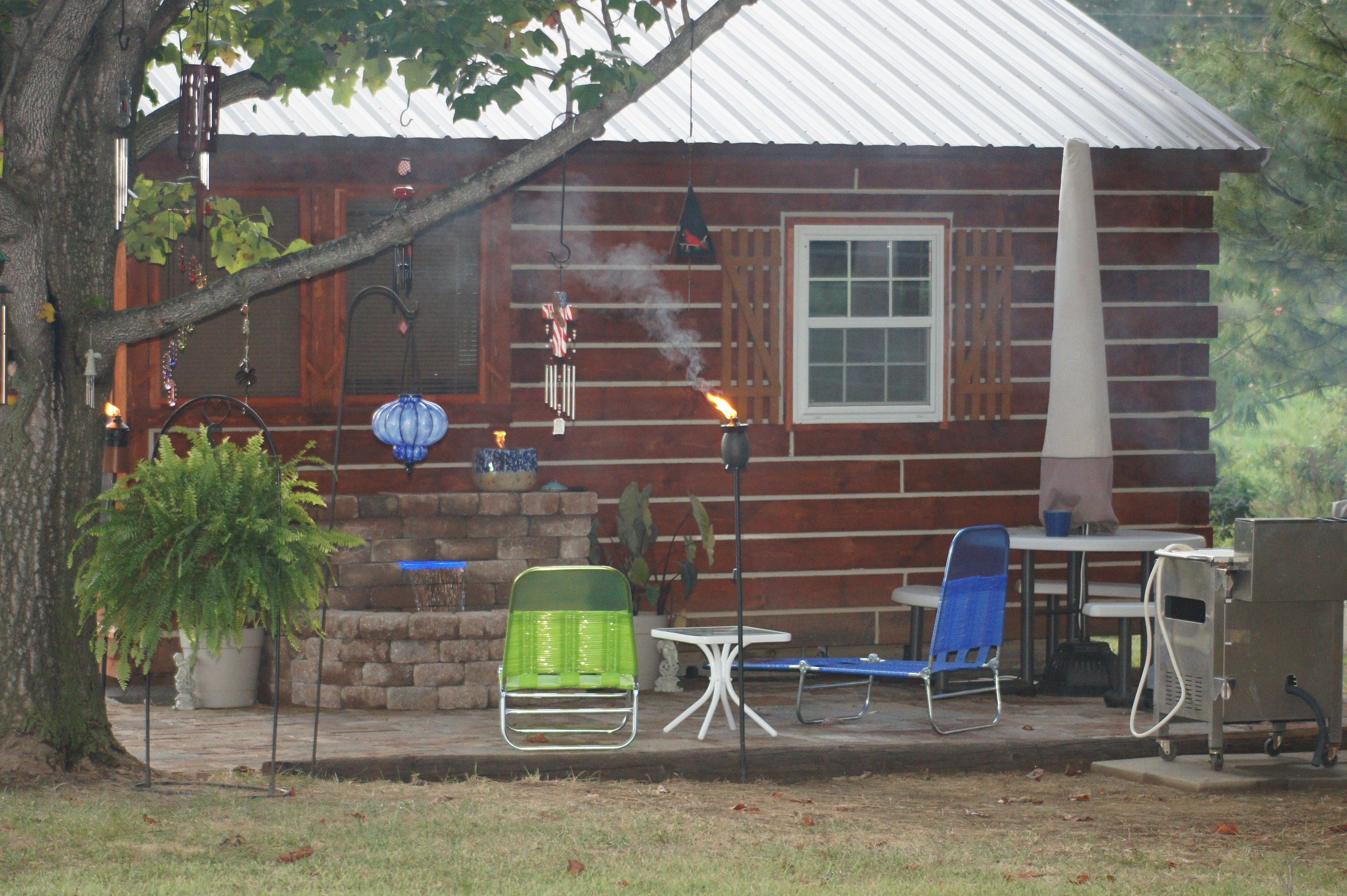 Cabin garden joy studio design gallery best design for Brick cabin