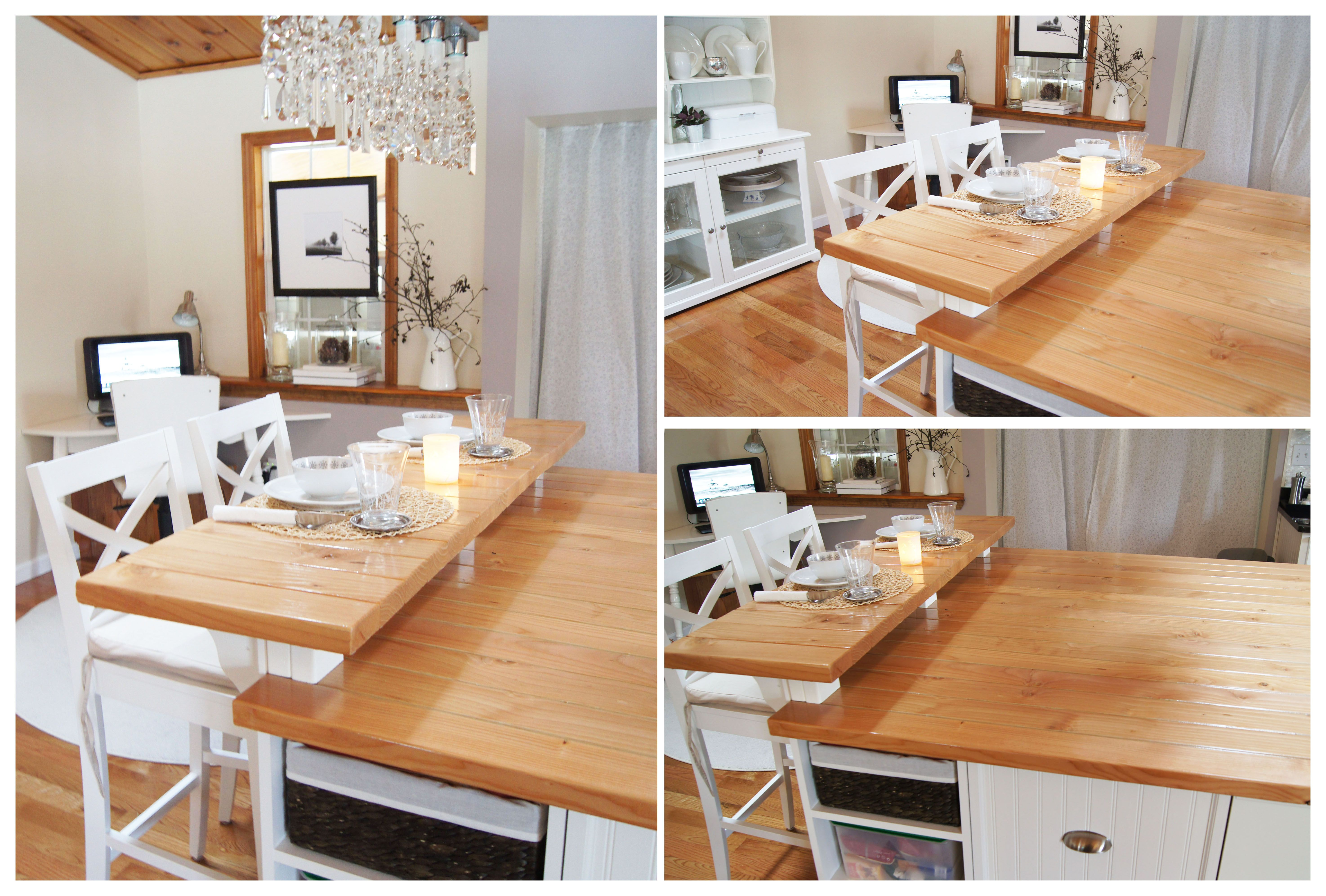 Wood kitchen counter from 2x4's | kitchen island ...