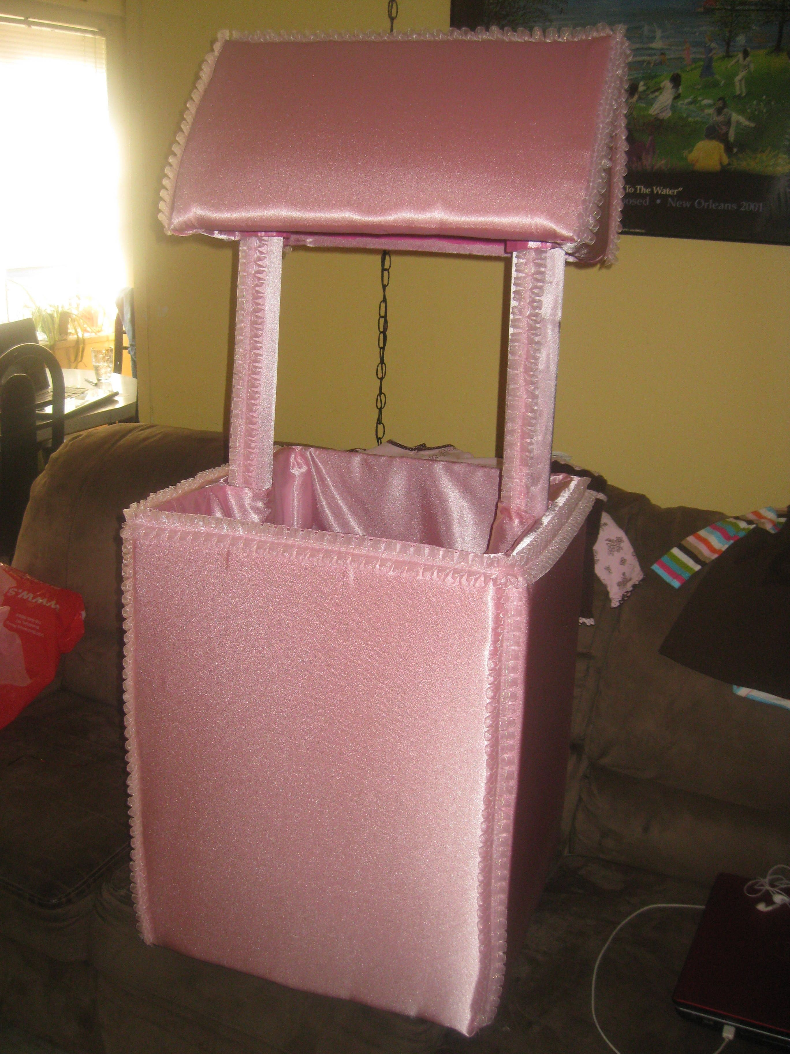 made a wishing well for a baby shower baby shower pinterest