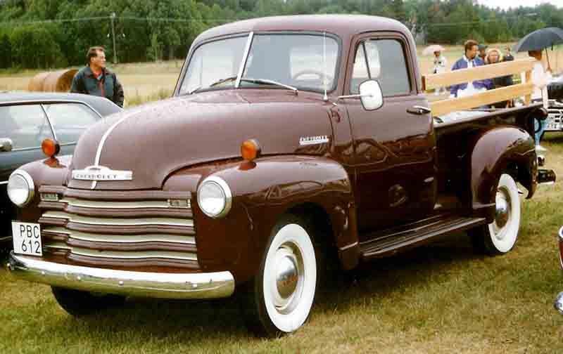 1952 Chevy Pickup 47 To 55 Chevy Pickup Pinterest