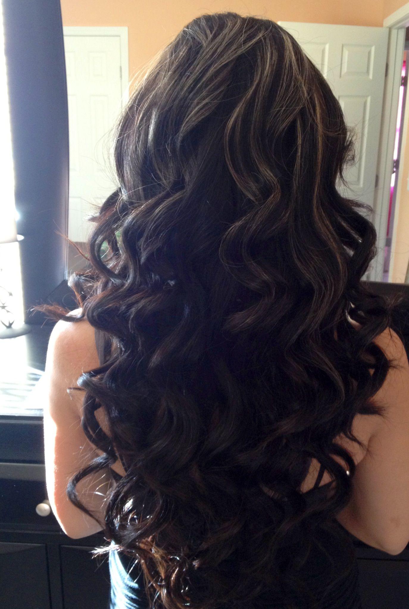 Big curls | hair stuff :) | Pinterest