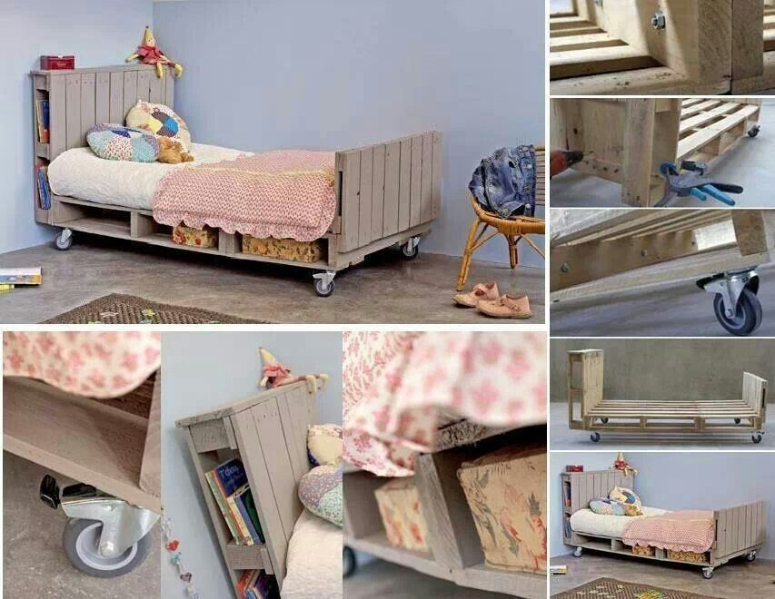 Toddler Bed Out Of Pallets