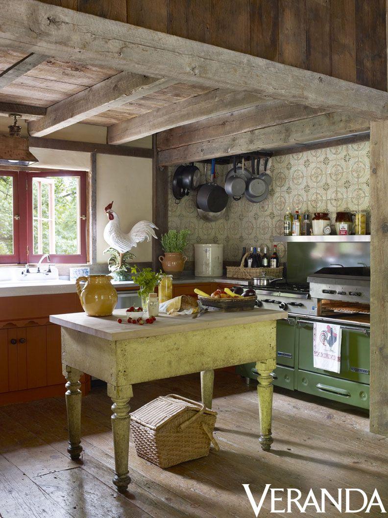 Pin by veranda magazine on kitchens in veranda pinterest for Country kitchen
