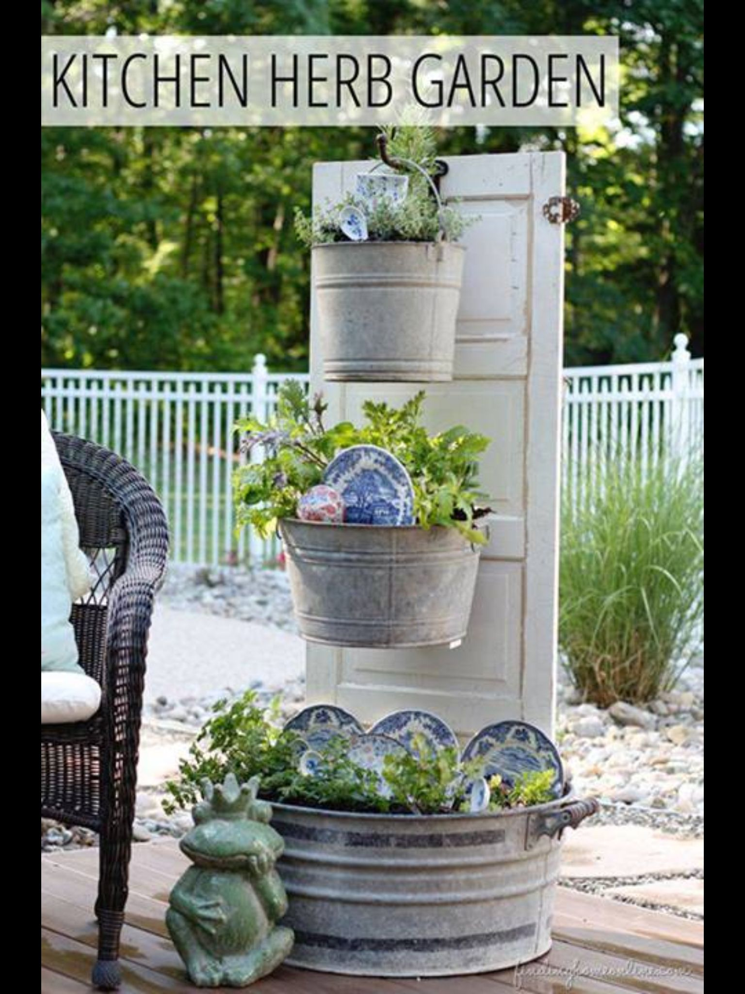 Backyard Herb Garden Ideas : wanna herb garden (  Ideas  Pinterest