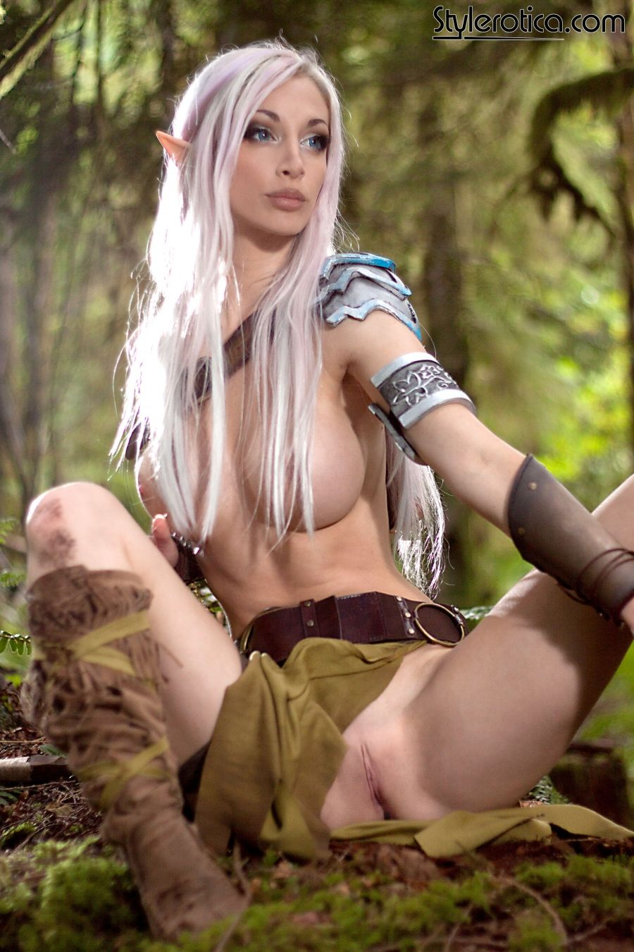 Naked blue elf cosplay porn famous queen
