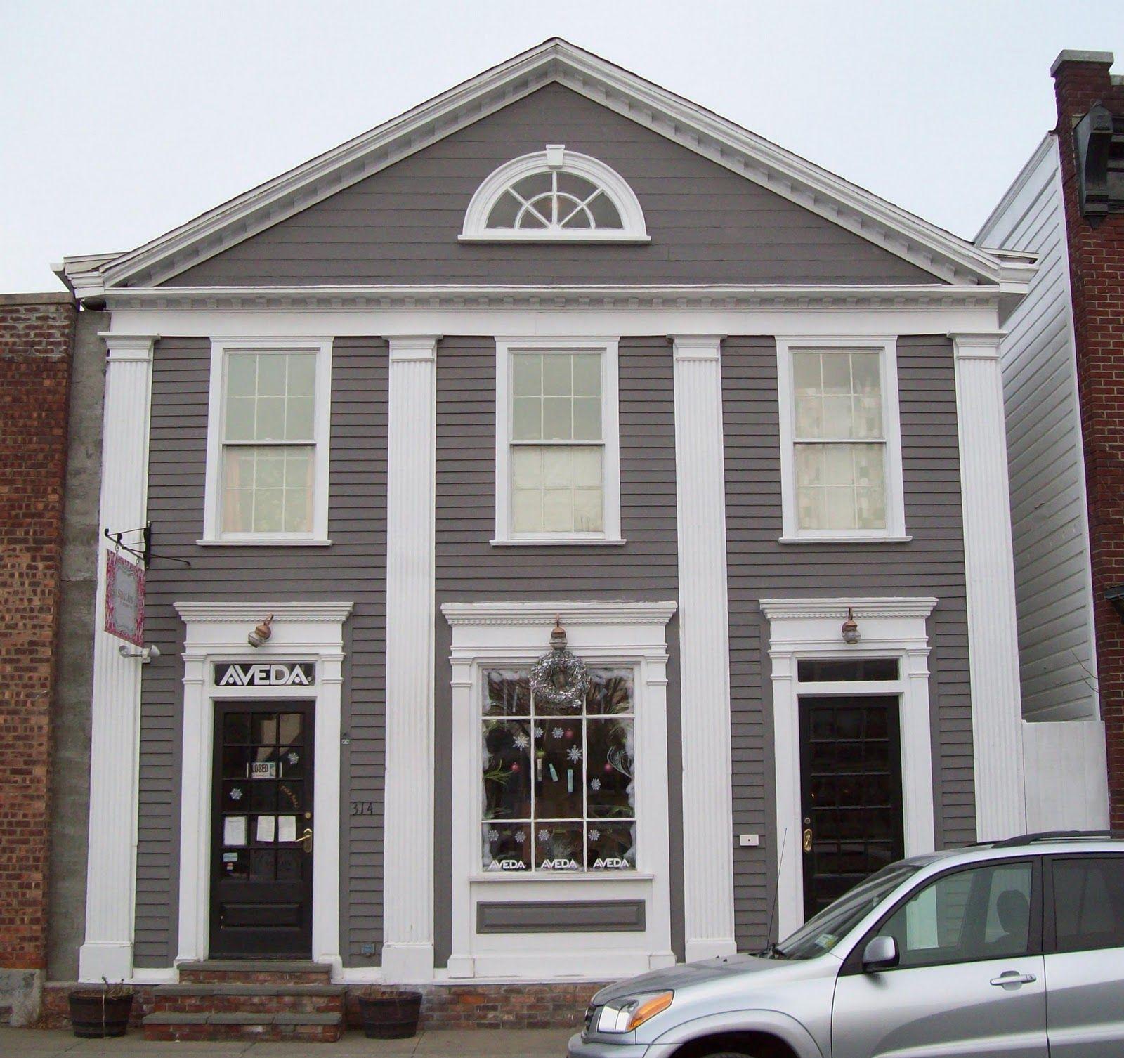 Exterior House Trim: Exterior Window Trim Detail