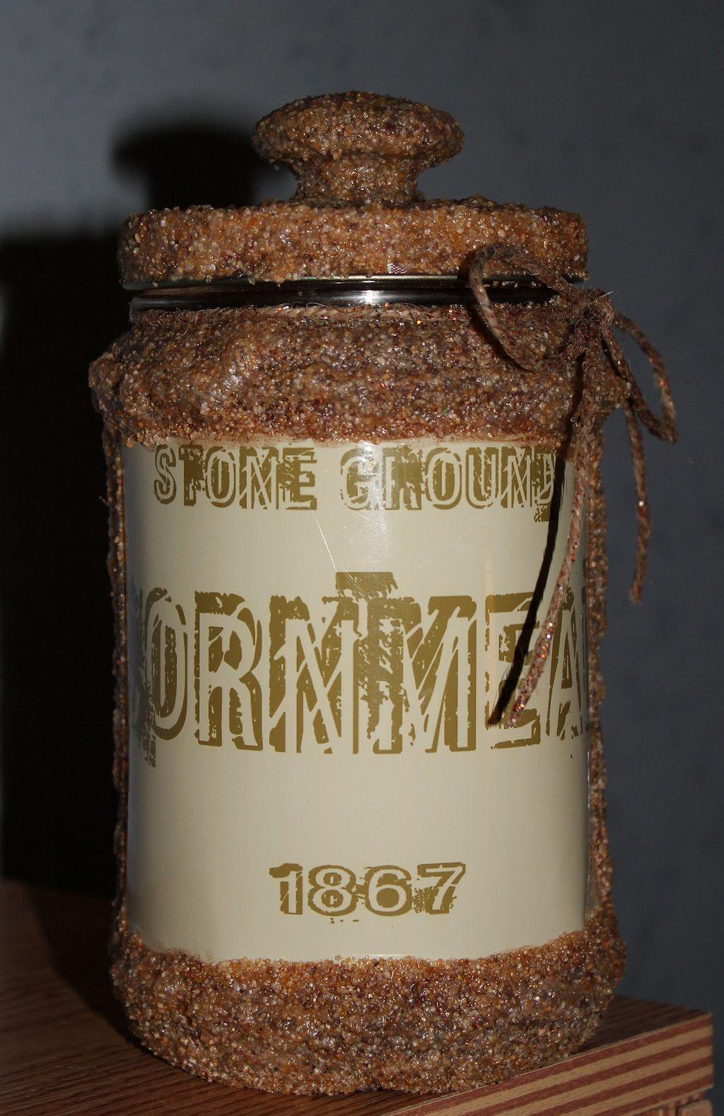 Smuckers Peanut Butter Jar | My Primitive Crafts | Pinterest