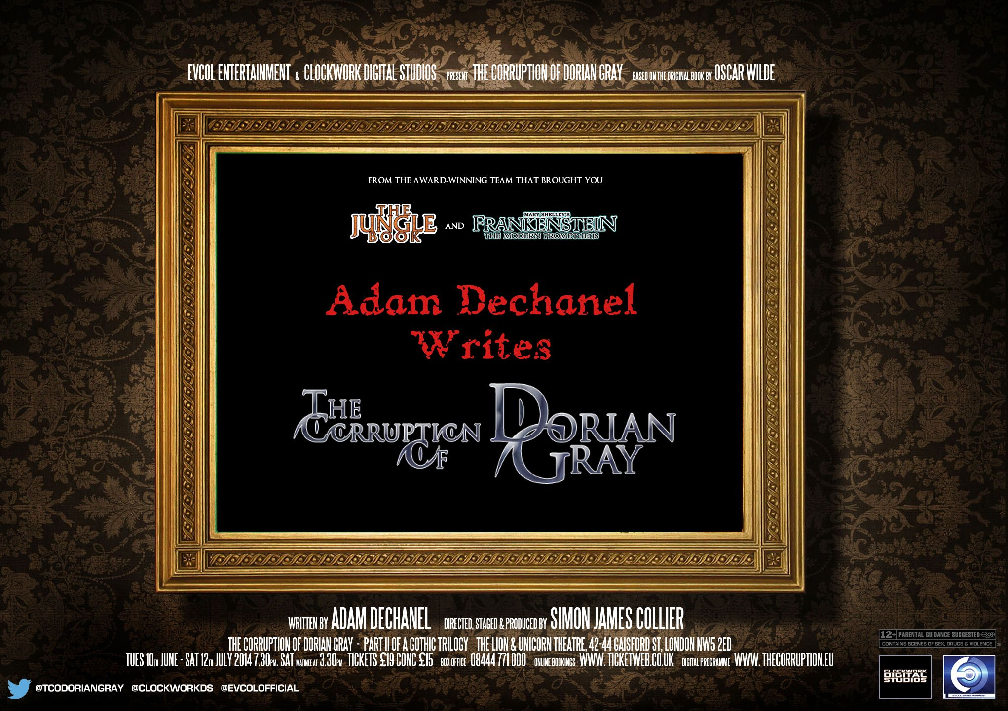 the picture of dorian gray corruption Picture of dorian gray because of the element of aestheticism, the doctrine of  from the city wilde succeeds in creating an atmosphere of corruption that.