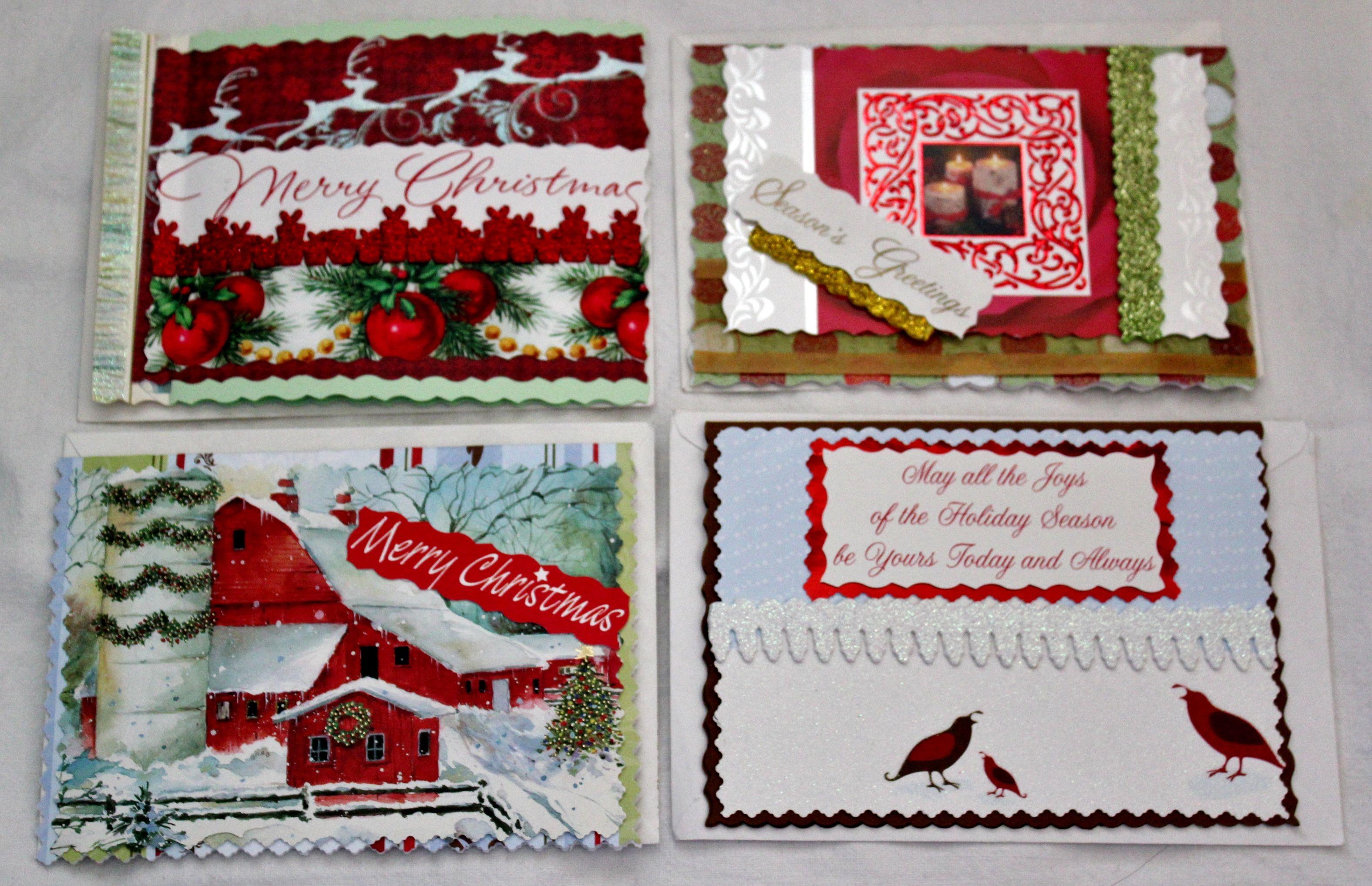 Christmas cards homemade pinterest all ideas about for Handmade christmas cards pinterest