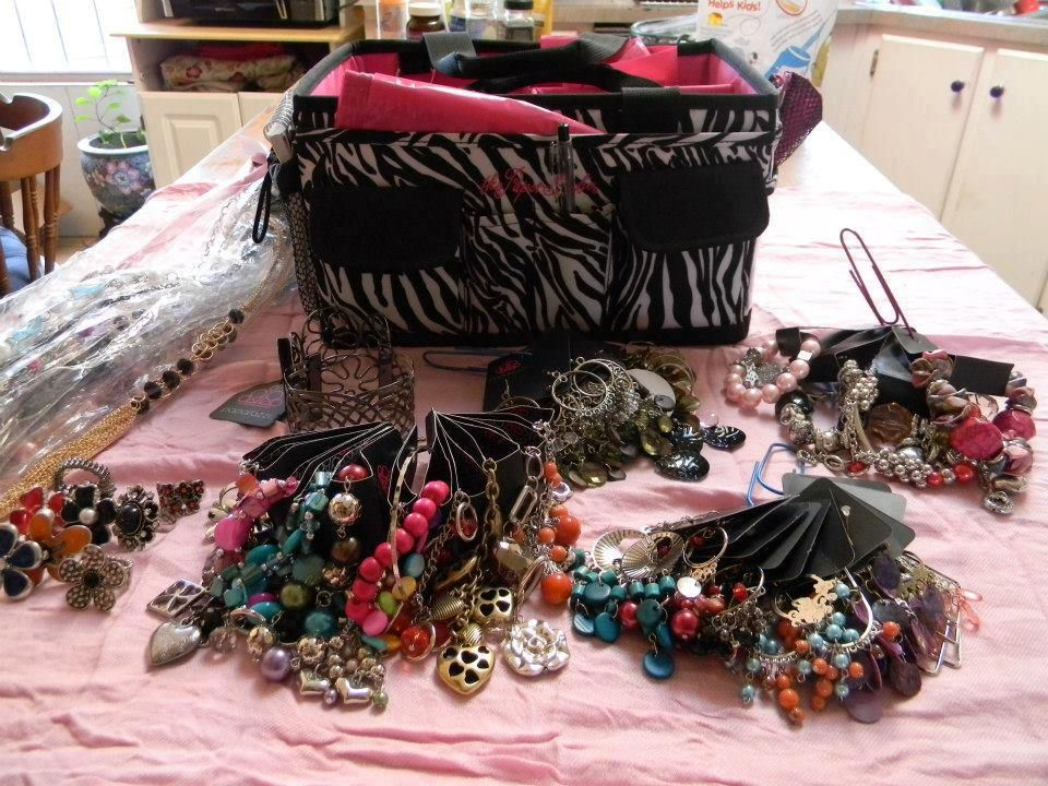 Great for basket parties paparazzi accessories facebook for Paparazzi jewelry gift basket