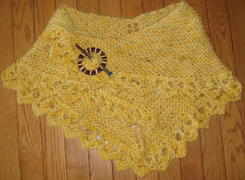 ravelry: knit & crochet shawl pattern by diane moyer