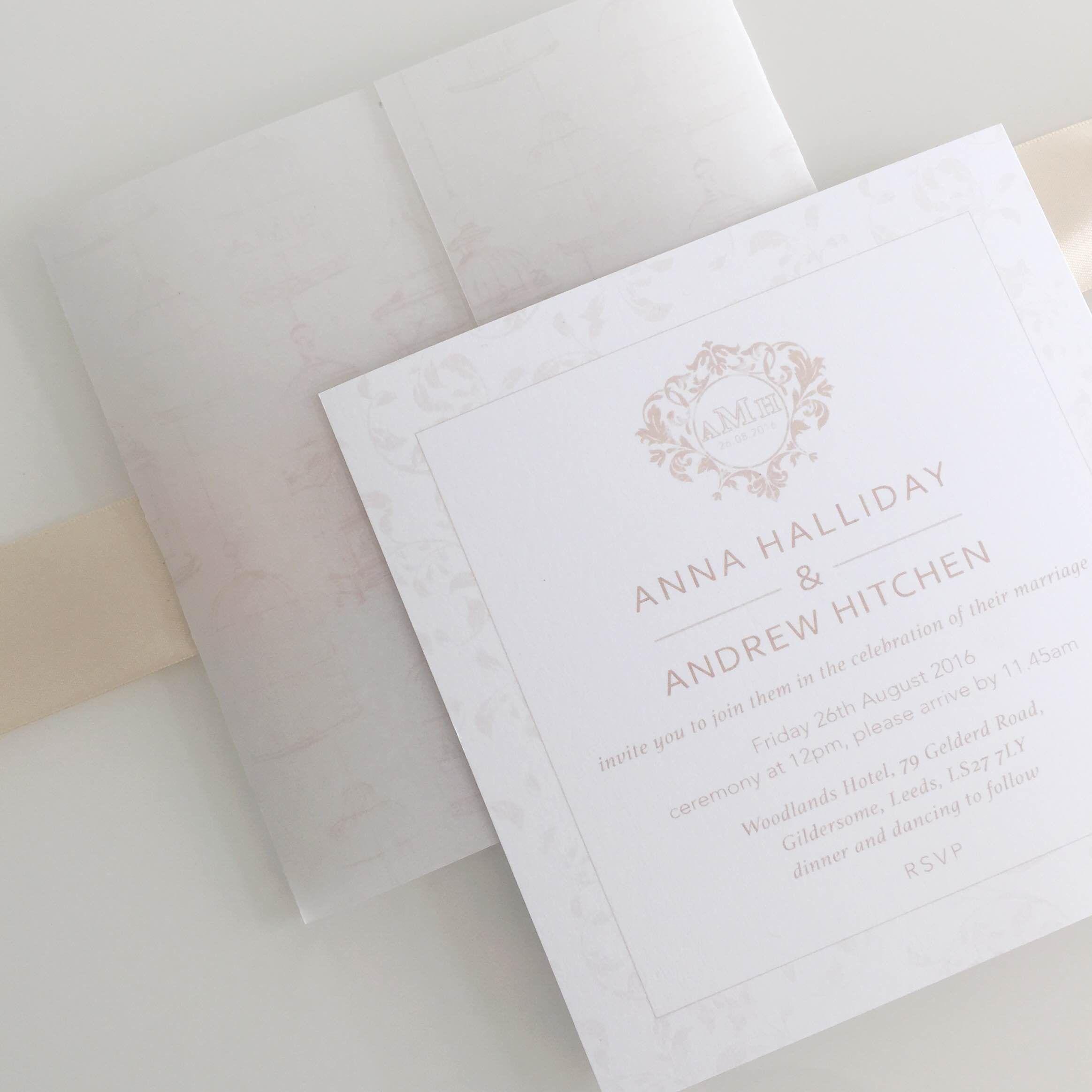 Bespoke Wedding Invitations Leeds | Invitationswedd.org