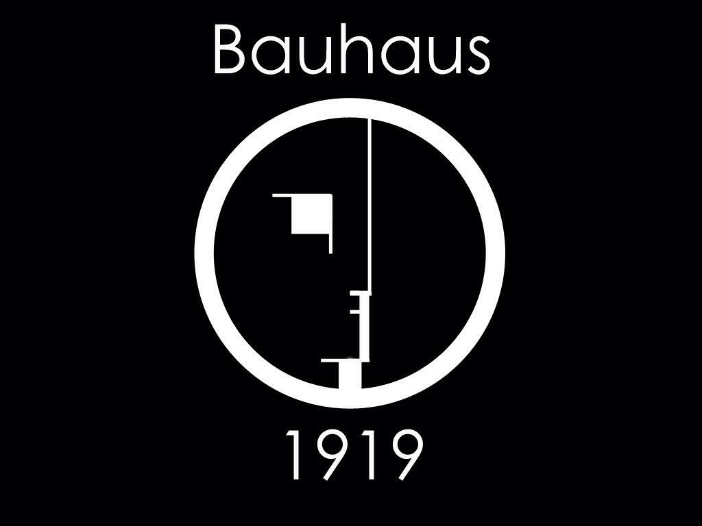 bauhaus logo and text style bauhaus paul klee pinterest. Black Bedroom Furniture Sets. Home Design Ideas
