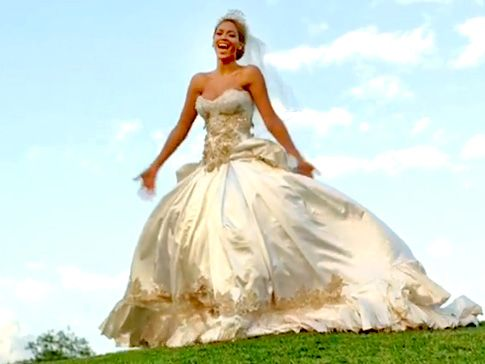 beyonce's wedding dress in best thing i never had | took