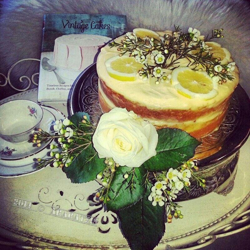 Lemon and Almond Streamliner Cake | Homemade with Love | Pinterest