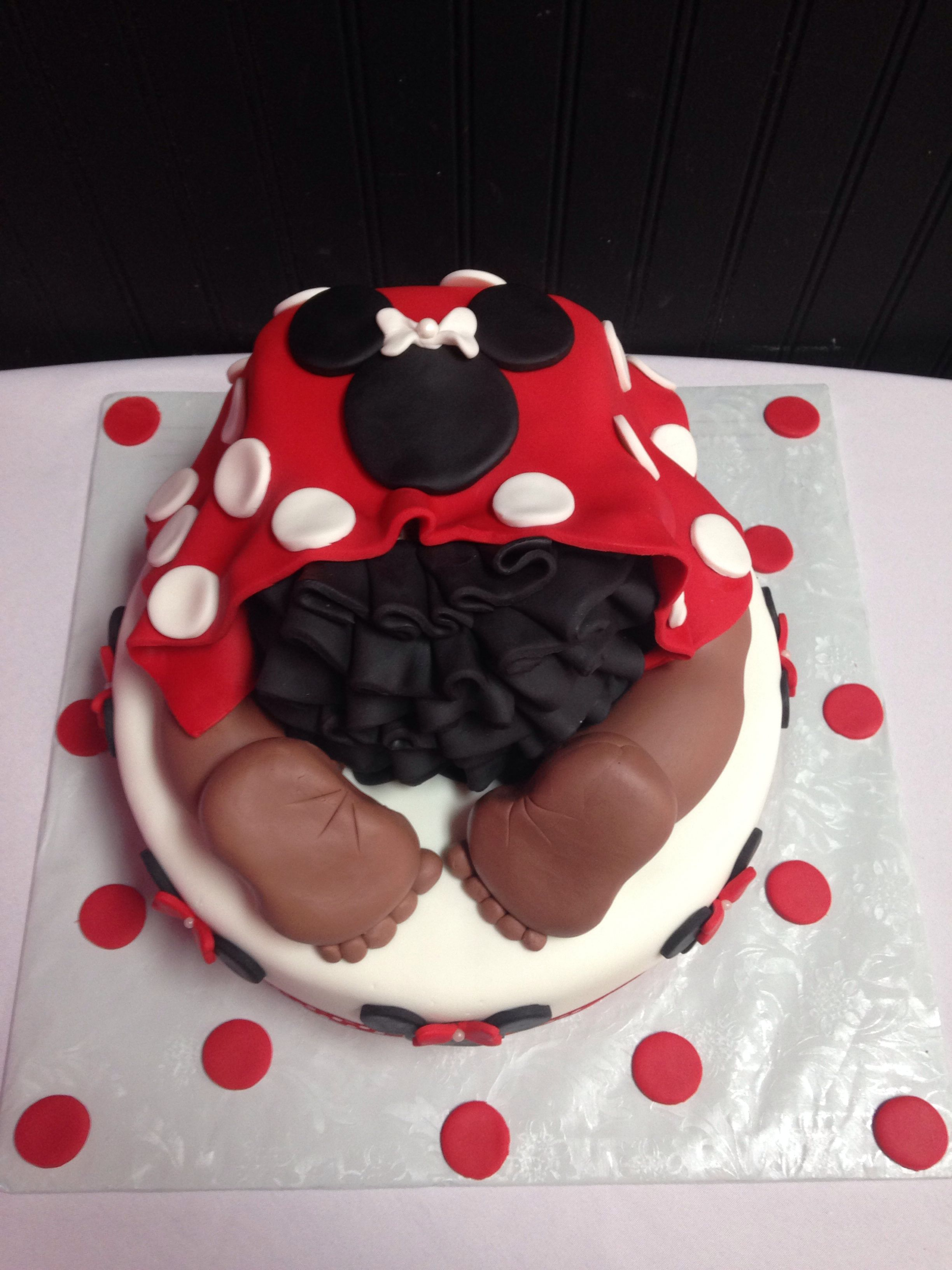 minnie mouse baby shower baby ideas pinterest