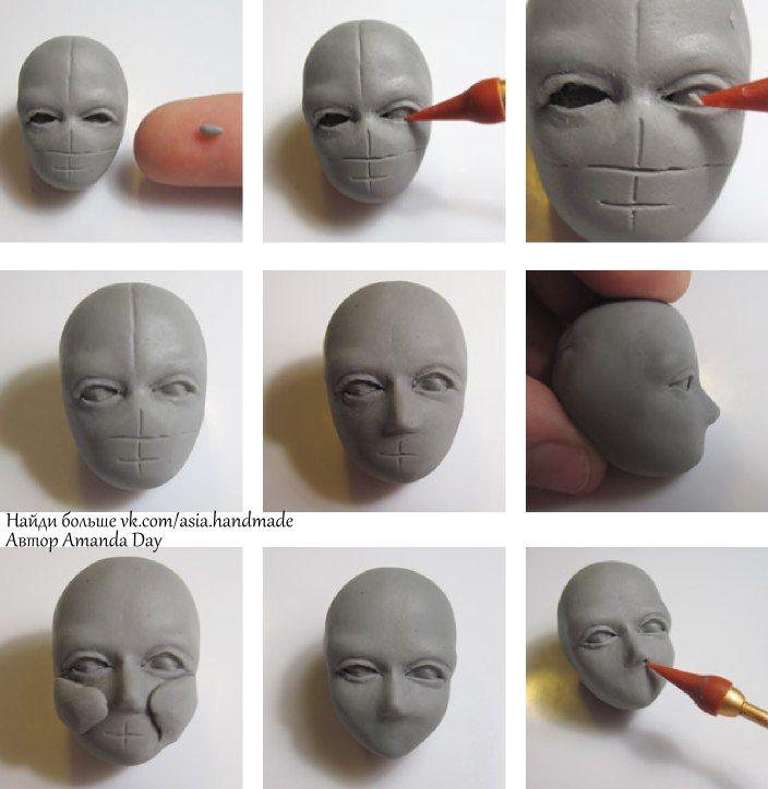 Материал для лепки кукол своими руками