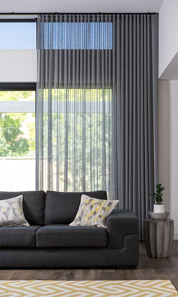 dramatic sheer curtains | decoraciones de casa en 2018 | Pinterest ...