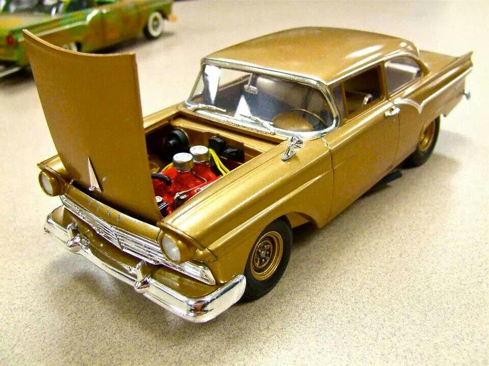 Revell 1957 Ford Plastic Model Car Pinterest