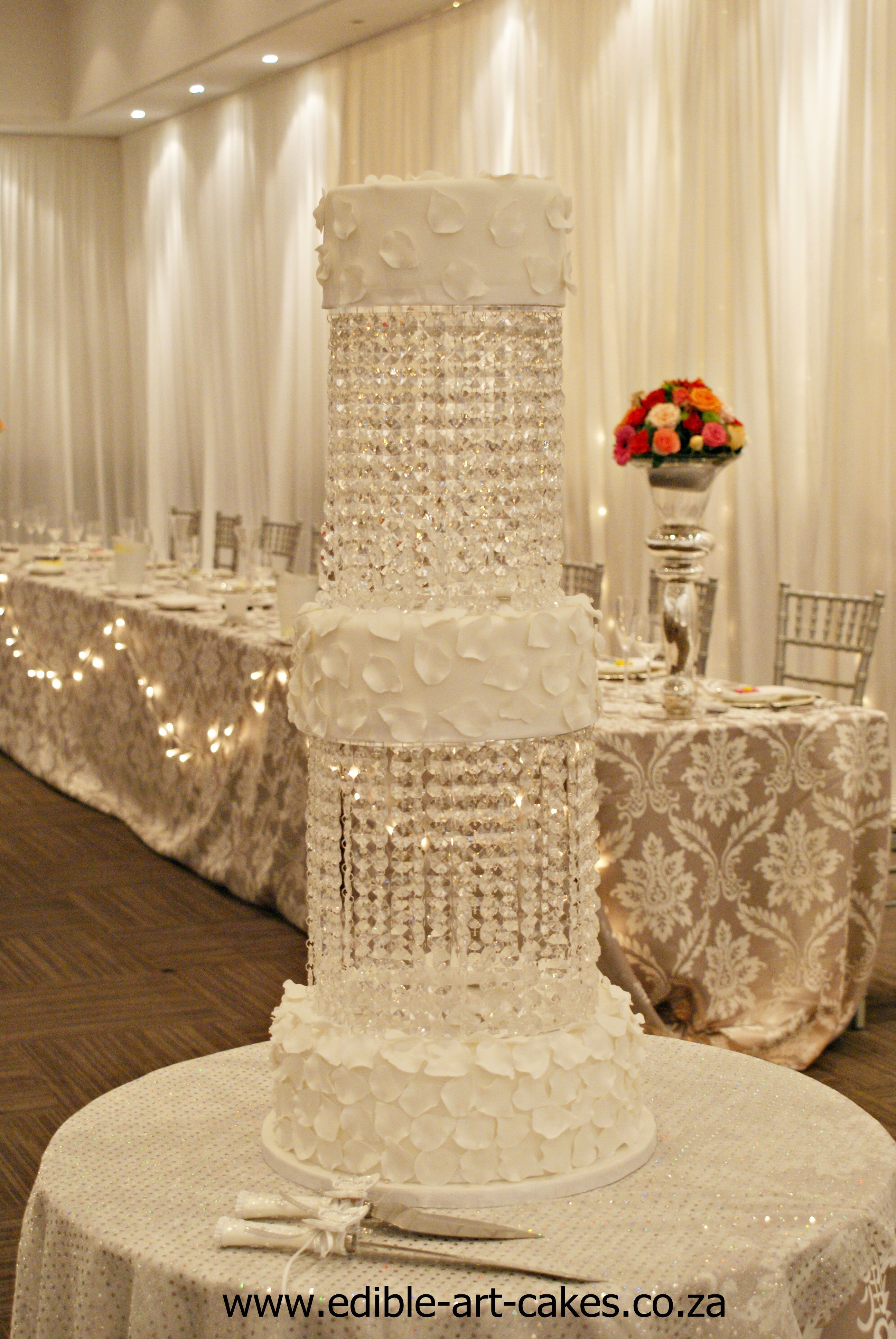 Edible Crystals for Wedding Cakes submited images