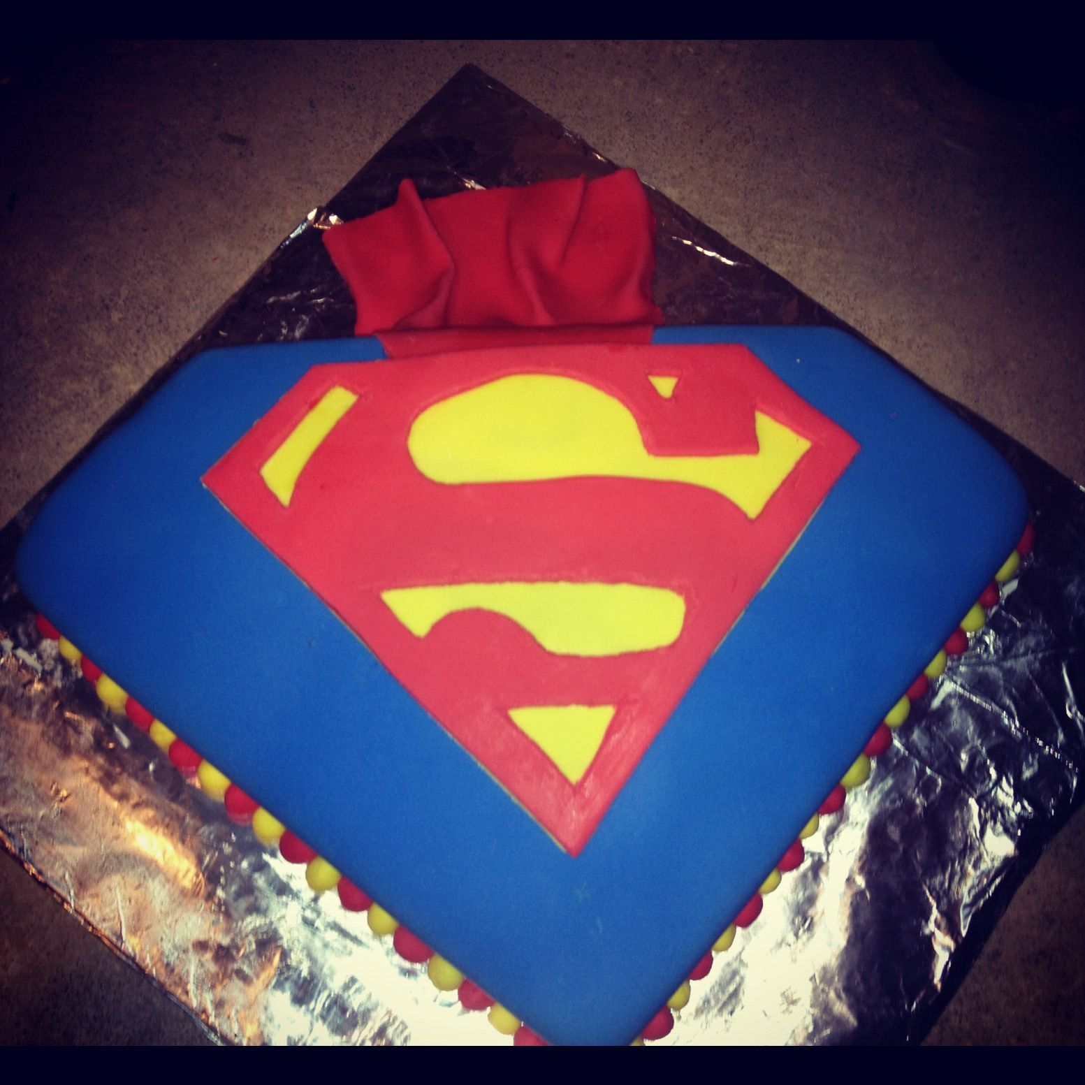 Superman Edible Cake Images : Superman Cake Decorations Cake Ideas and Designs