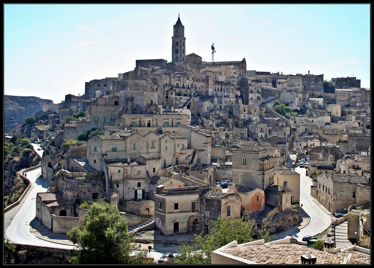Matera Italy  city pictures gallery : Matera Italy Map
