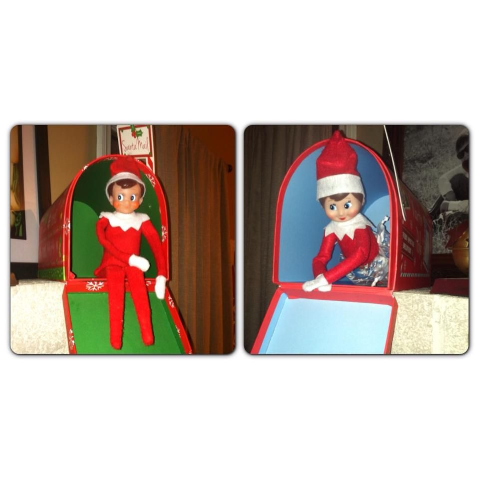 Elf on the Shelf Special Delivery | Elf on the Shelf Ideas | Pinterest