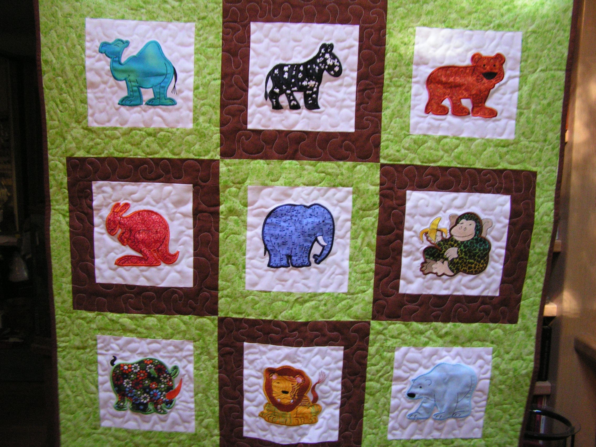 Embroidery Patterns For Quilt Squares : Baby Quilt, machine embroidery squares Brother Embroidery Pintere?