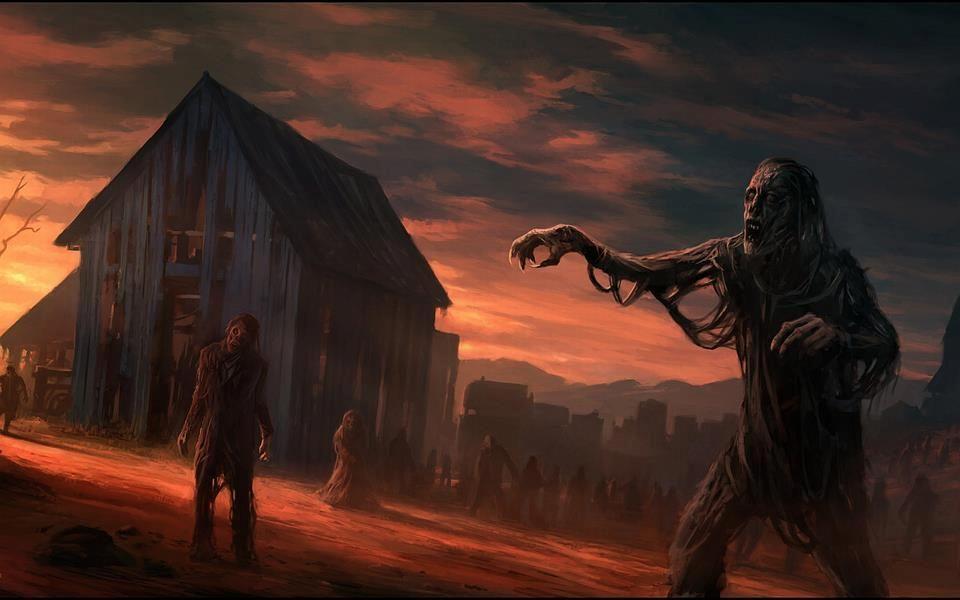 Zombie Horde Art Zombie Horde | ...