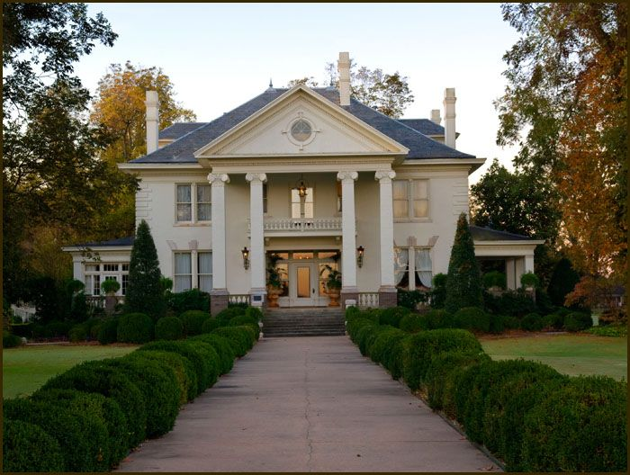 Southern style plantation home dream home pinterest for Small plantation homes