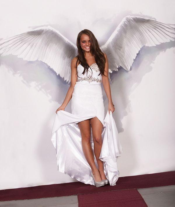 Tori Union, Prom Dress & Angel Wings | Photos of Beautiful People | P ...