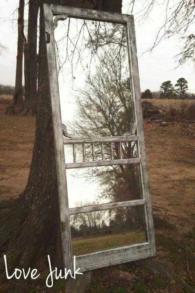 Old screen door full length mirror old screen doors for Old door ideas