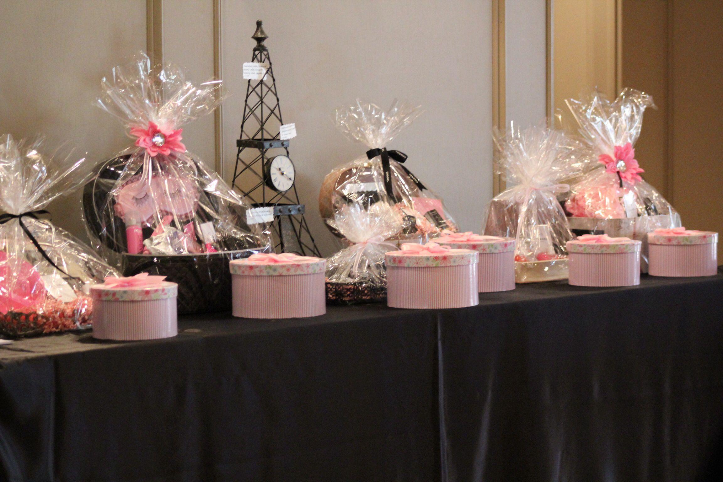 Raffle Prizes Chanel Bridal Shower