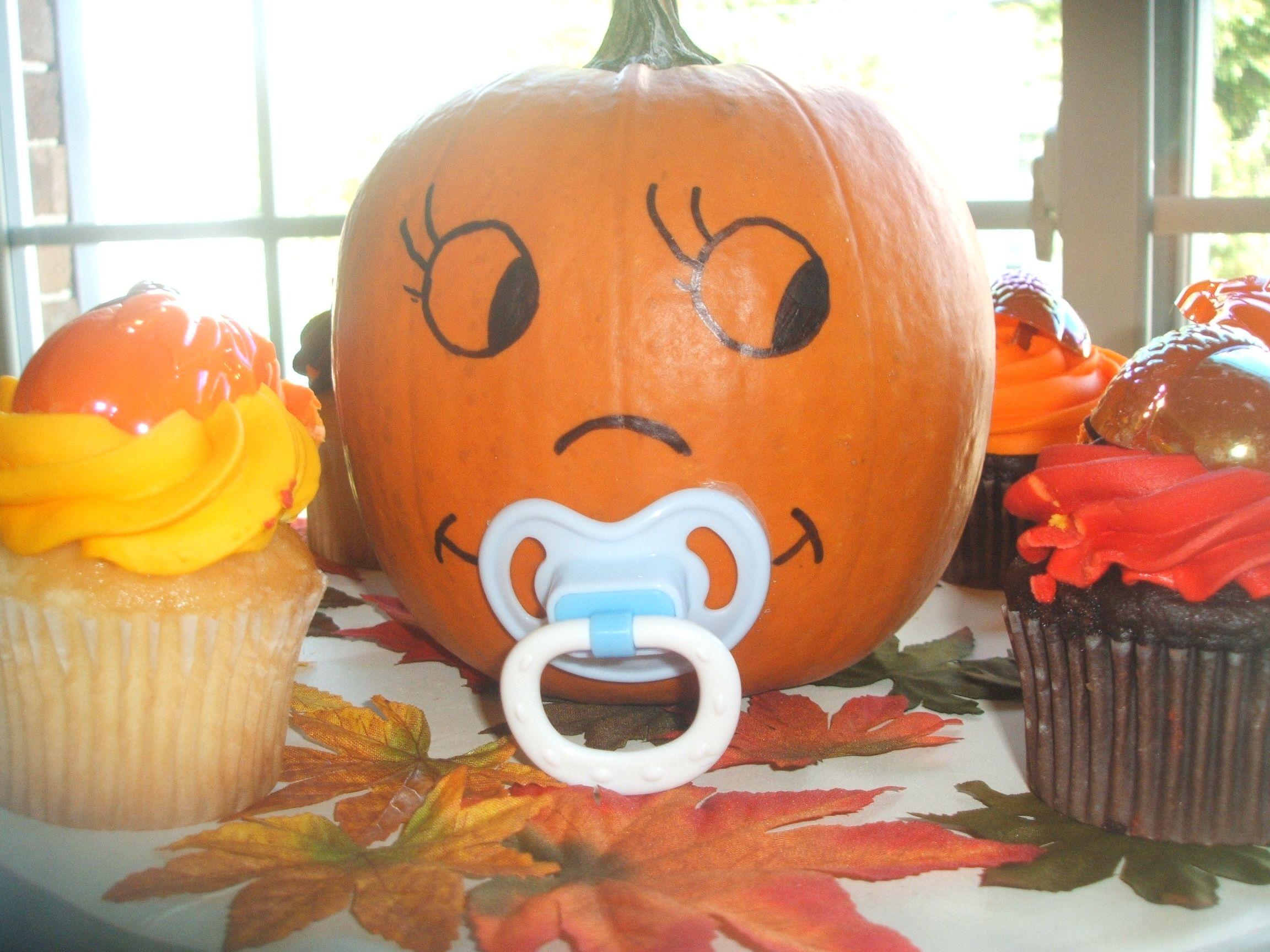 baby shower pumpkin fall themed baby pinterest