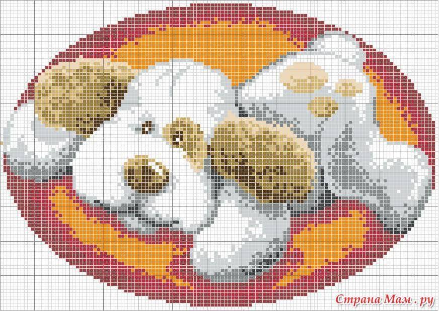 Схемы для ковриков иглой