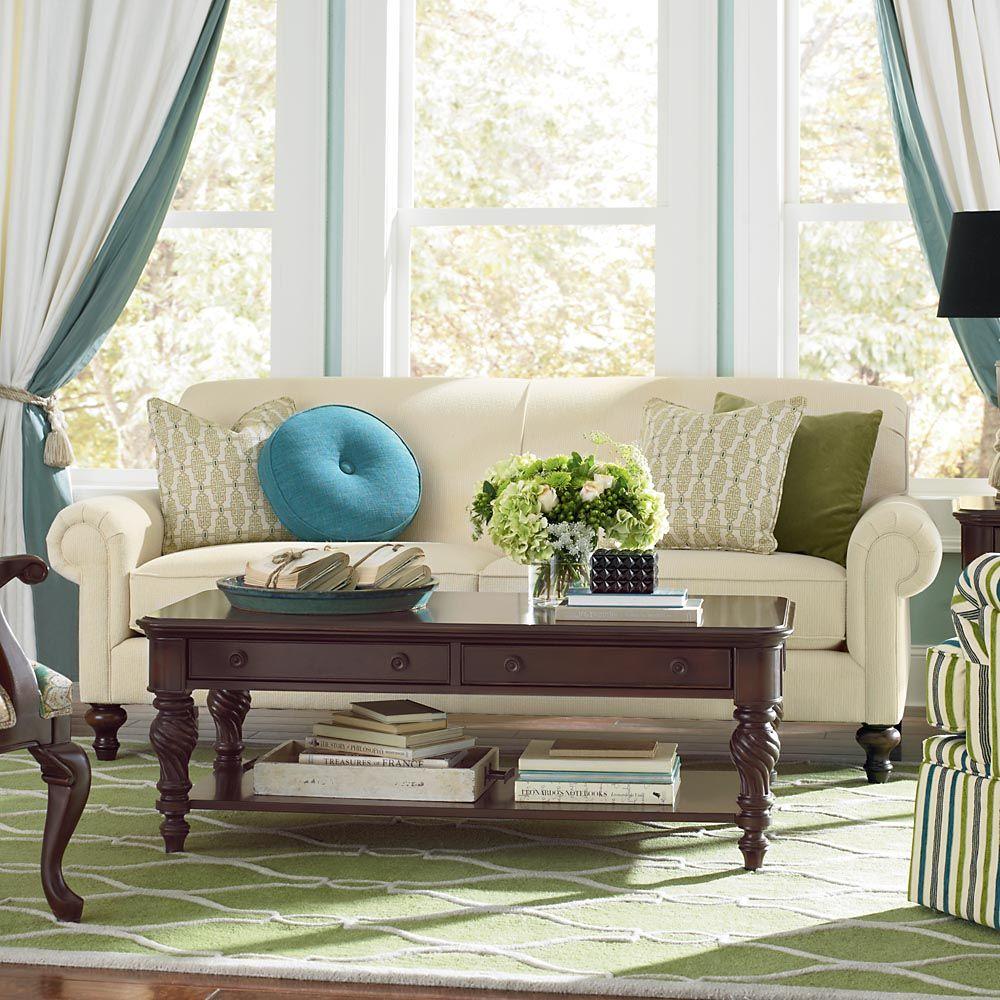 Living room / Bassett Furniture  All About Decor  Pinterest
