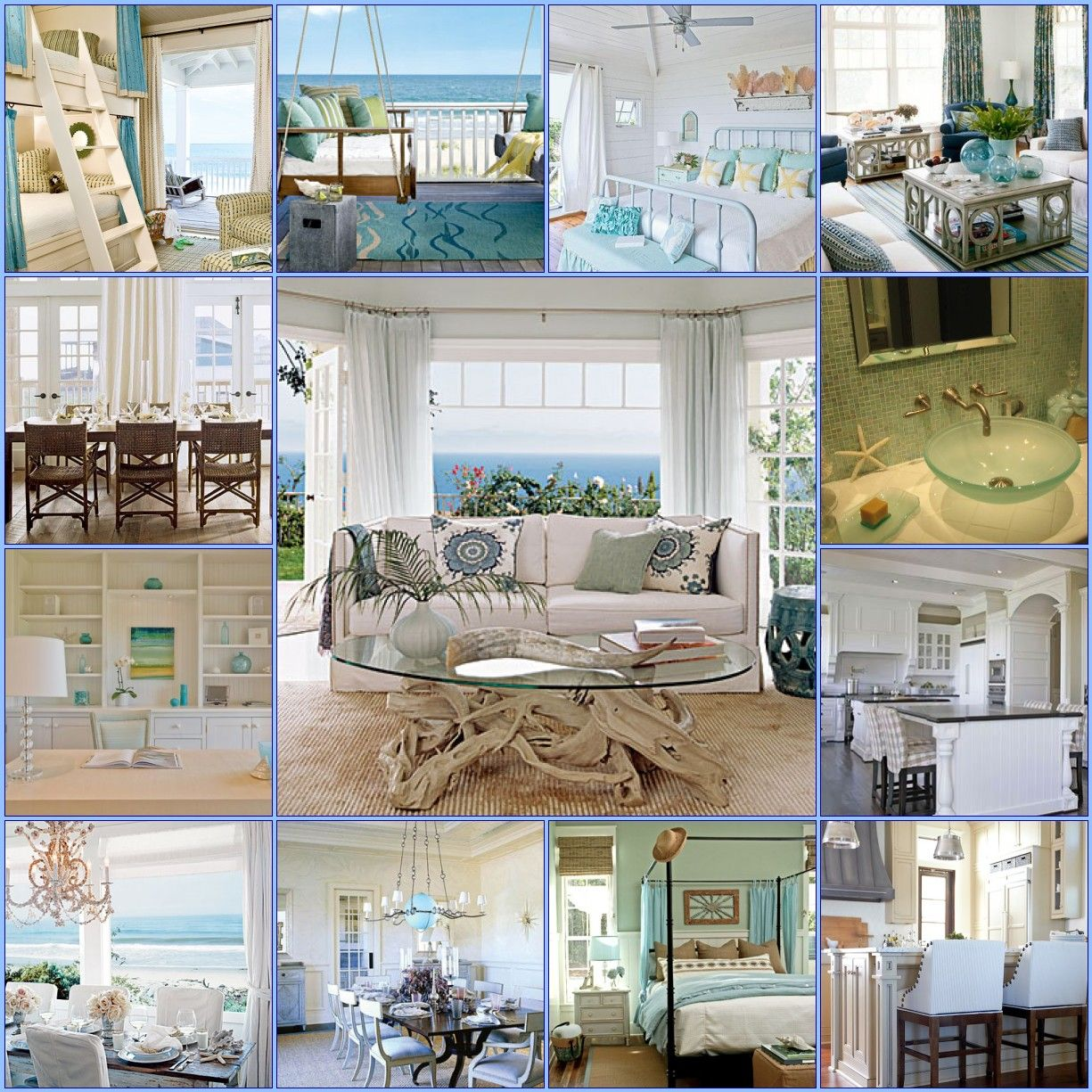 Coastal decor going coastal pinterest for Coastal beach house decor