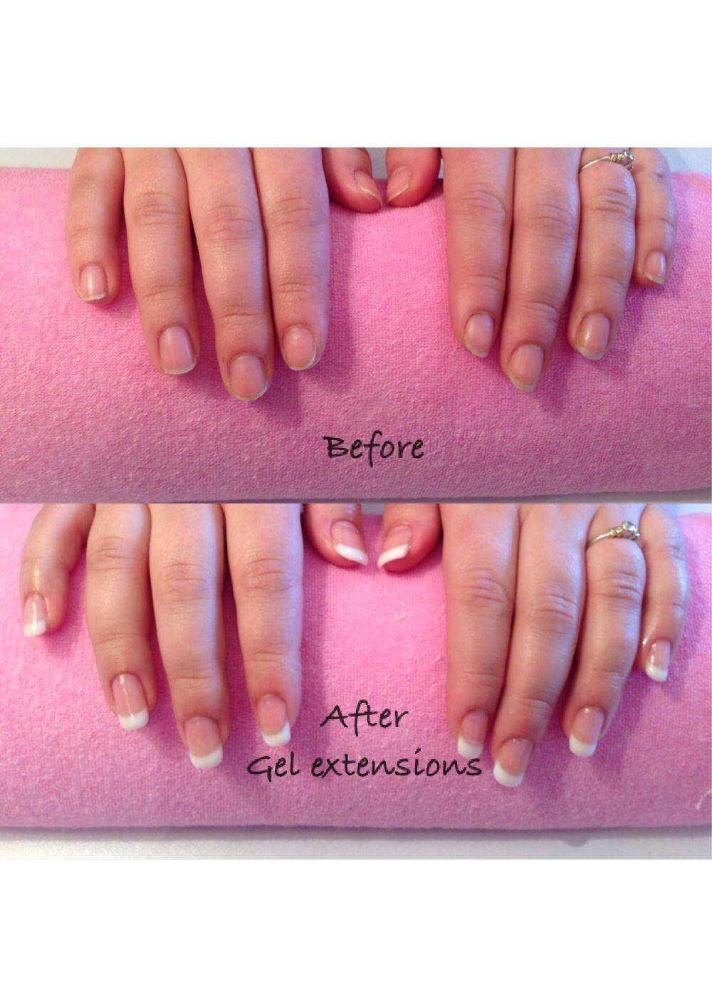 gel nail extensions next step nail course pinterest