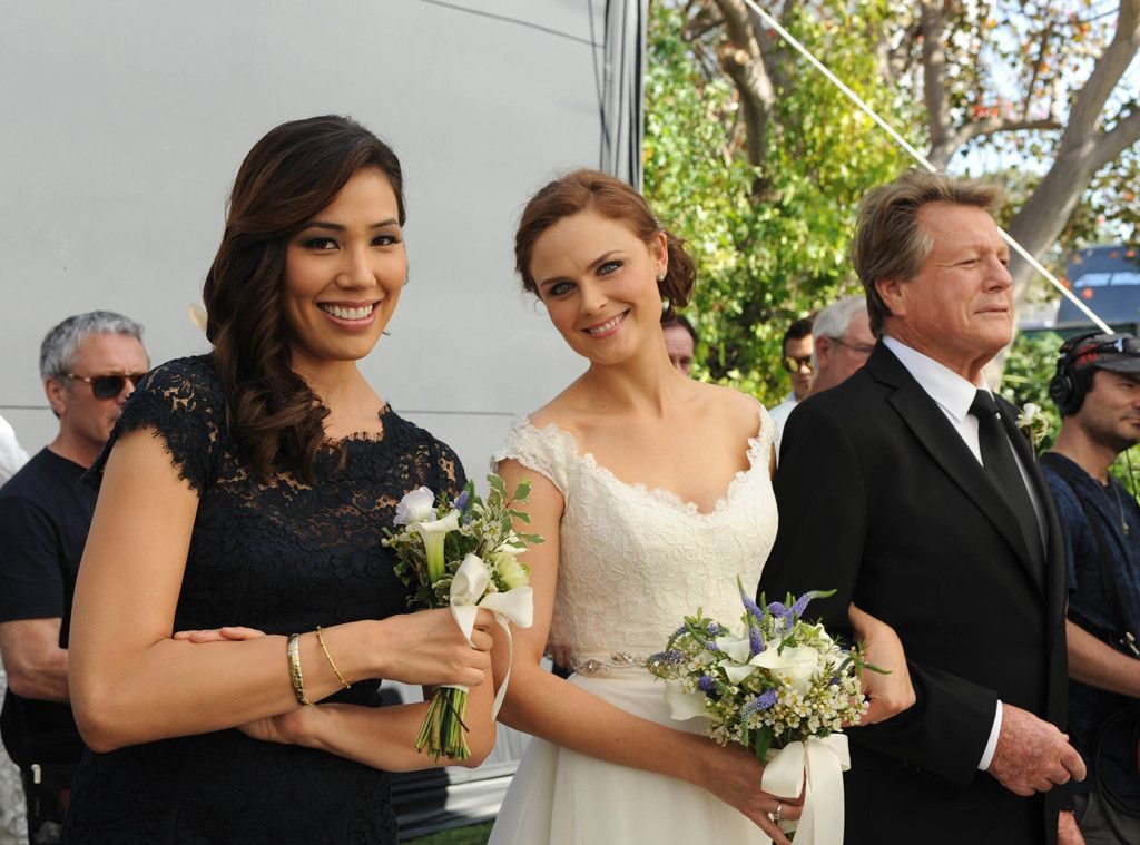 Emily deschanel and husband on bones