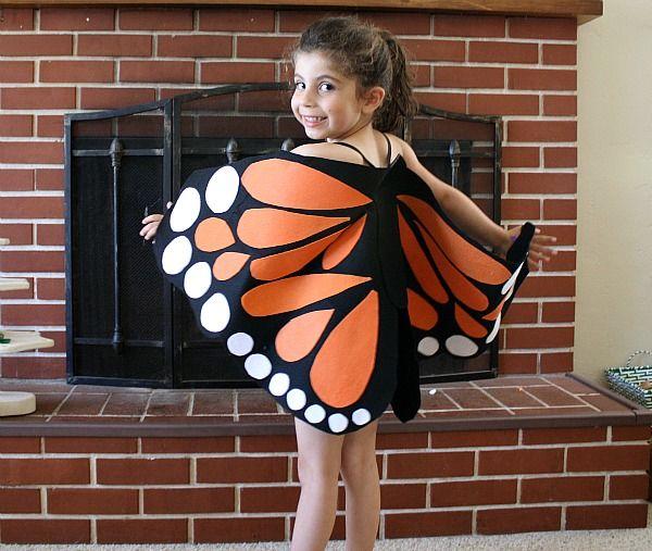 Бабочки к костюму своими руками 19