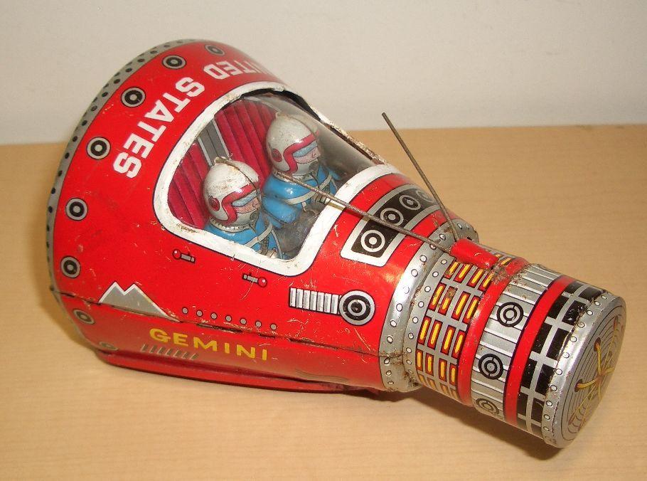 Vintage Space Toys : Gemini space capsule oldies but goodies pinterest