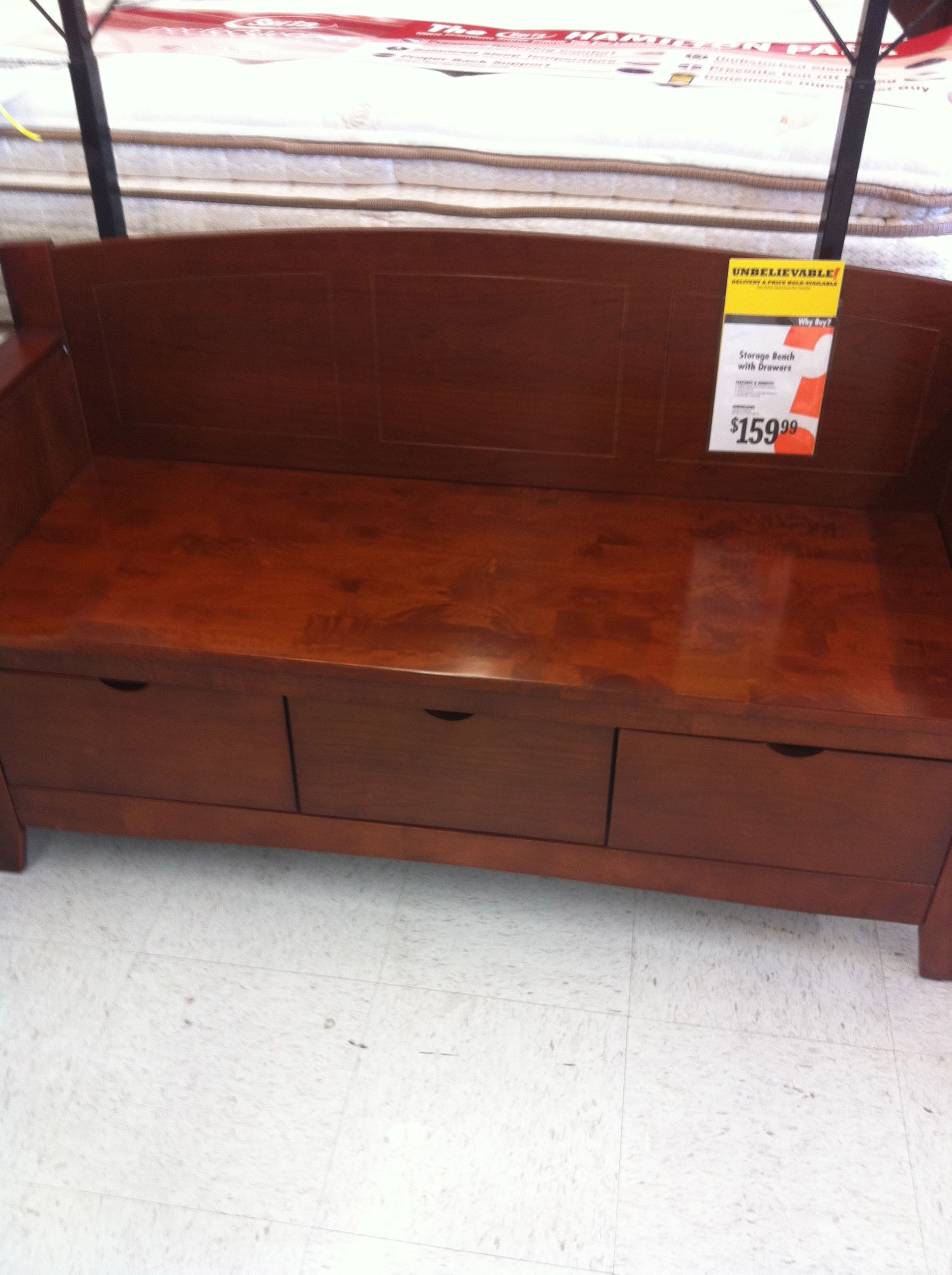 Best End Of Bed Bench From Big Lots Big Lots Shopping Pinterest 400 x 300