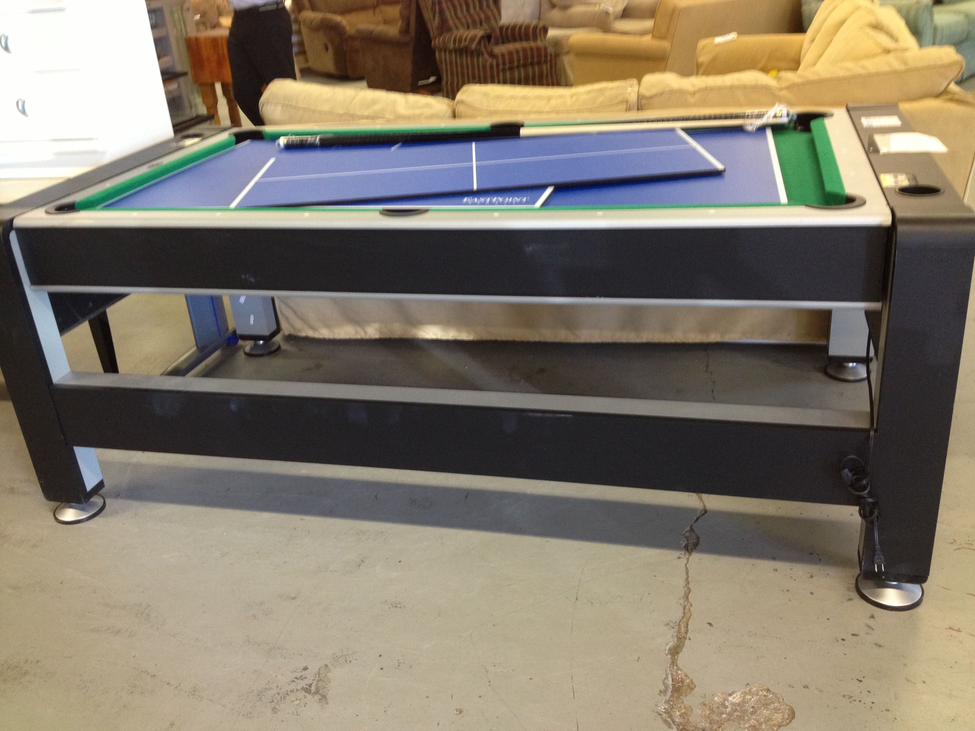 Pool Table Ping Pong Table And Air Hockey Flickr Photo
