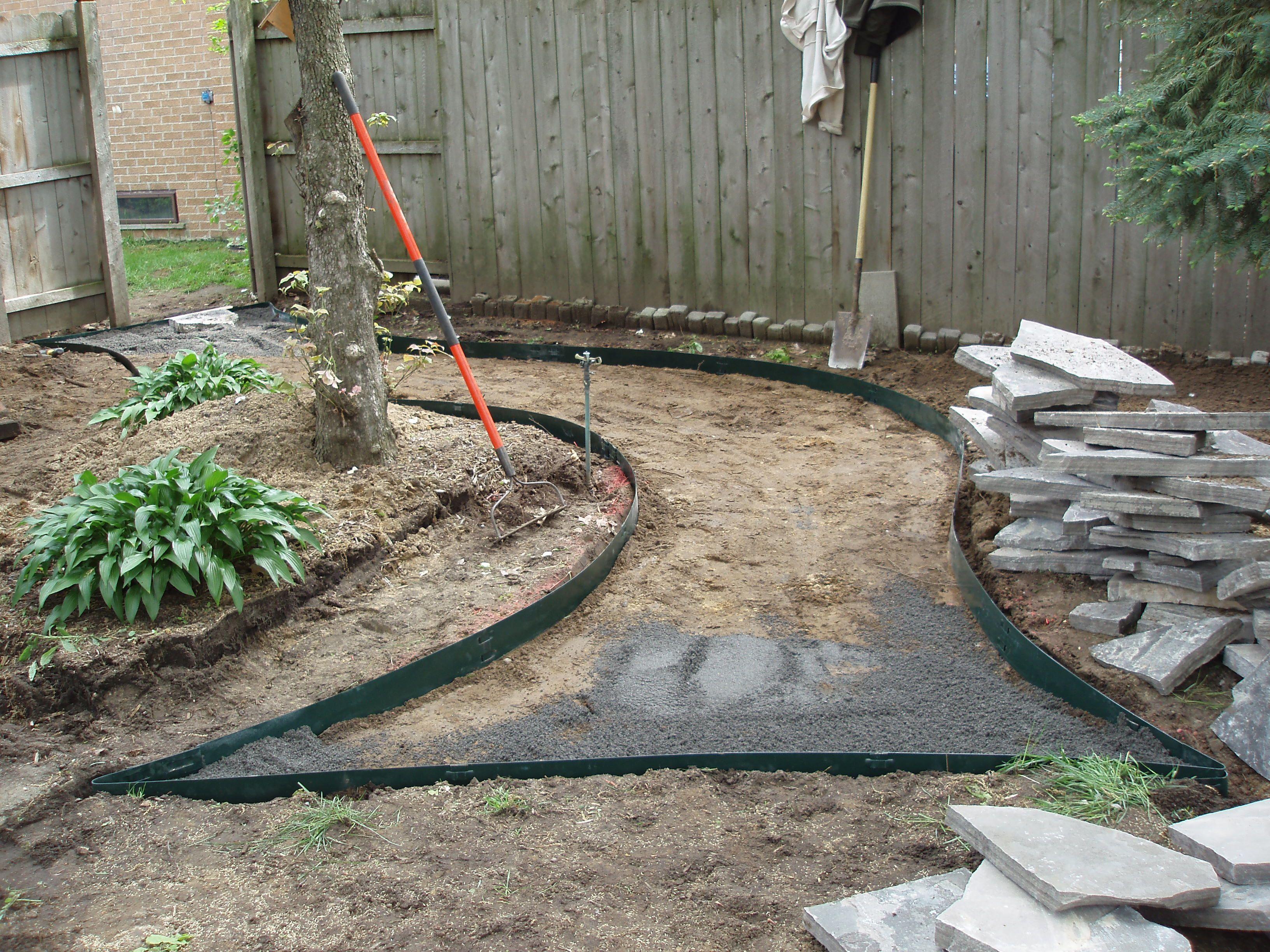 lawn upkeep van setup