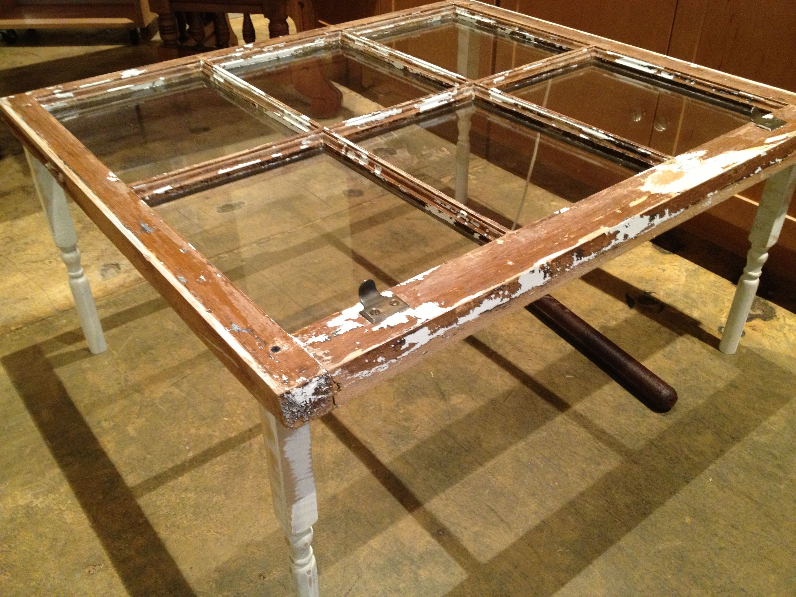 Upcycled Windowpane Coffee Table Upcycling Pinterest