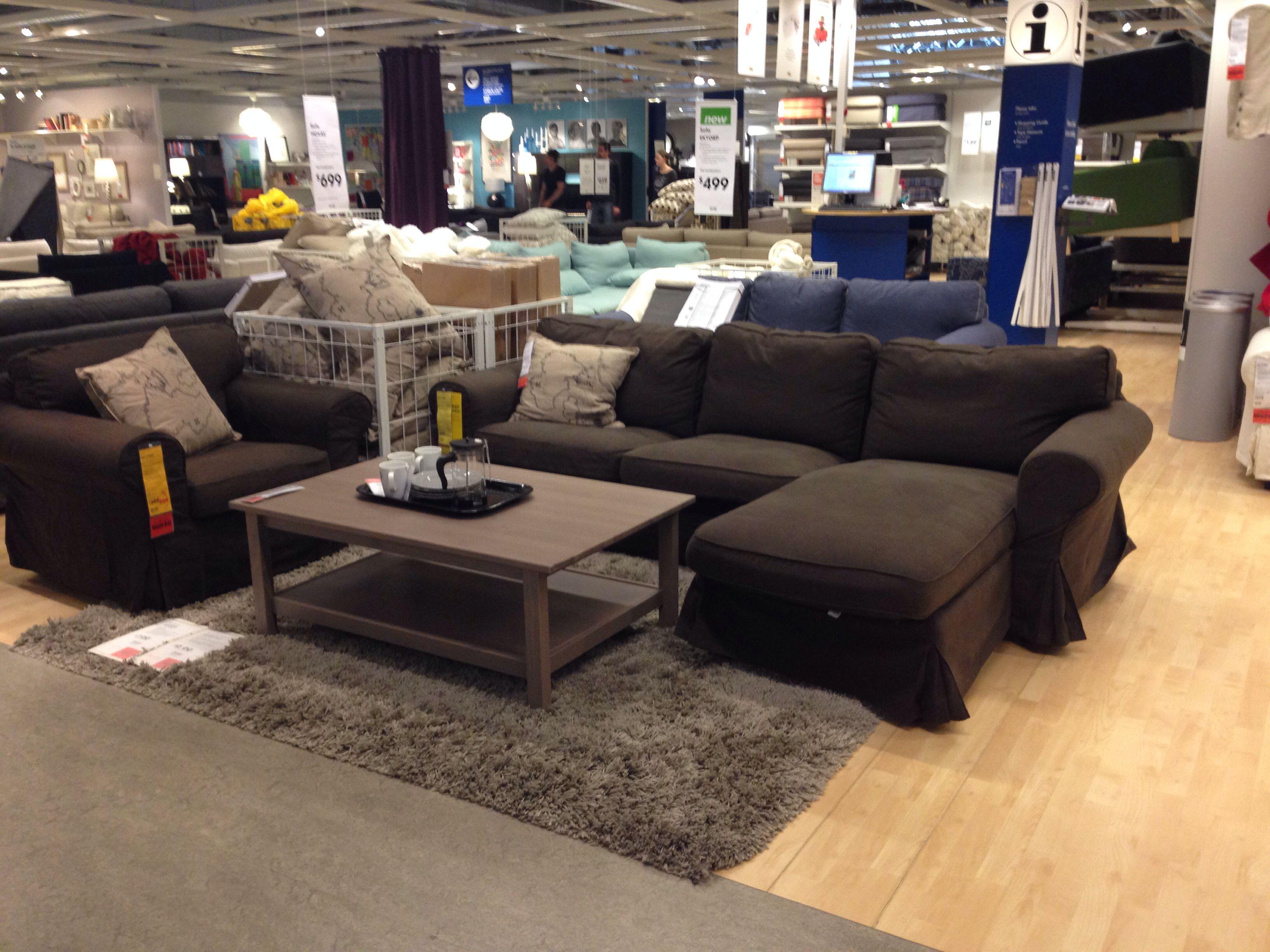 Comfy living room idea ikea showroom living room decor for Showroom living room ideas