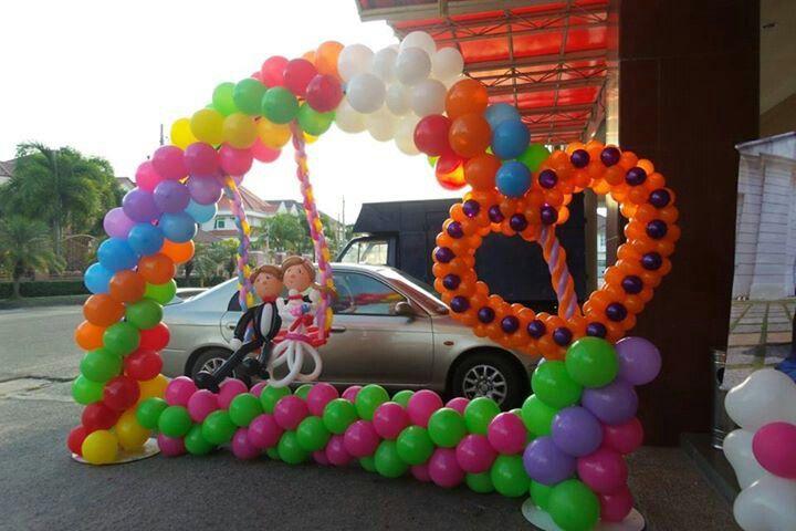Arcoiris para bodas | Columnas, Arcos, Cumples Globos | Pinterest